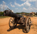 Free Thai Ancient Cannon. Royalty Free Stock Image - 29633206