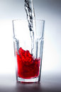 Free Glass Of Red Juice Royalty Free Stock Photos - 29634828