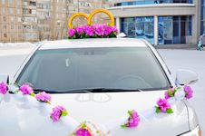 Free Wedding Car Decoration Stock Images - 29631804