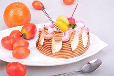 Free Fruit Cake Stock Photography - 29633422