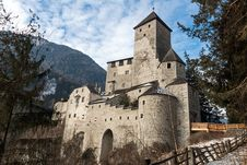 Free Castle Of Campo Tures Royalty Free Stock Photos - 29640248