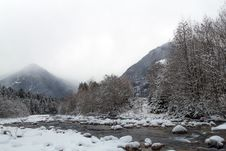 Free Mountain Winter Landscape Stock Photos - 29642353