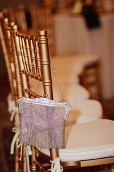 Free Gold Chair Stock Image - 29643871