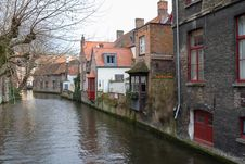 Free View Of The Canals Of Bruges Stock Image - 29645401
