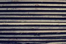 Free Horizontally Lying Wooden Old Bars Stock Photo - 29647920