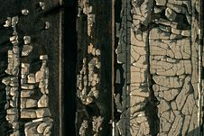Free Old Wooden Wall With Old Peeled-off Paint Royalty Free Stock Image - 29648406