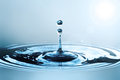Free Water Drop In Sunlight Royalty Free Stock Photos - 29650058