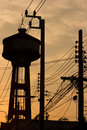 Free Water Tower Royalty Free Stock Photography - 29651417