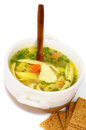 Free Chicken Noodle Soup Royalty Free Stock Image - 29658276