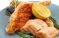 Free Grilled Salmon Stock Photography - 29658862