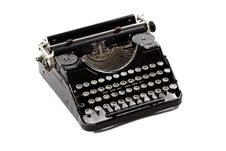 Free Old Typewriter Royalty Free Stock Photo - 29652805