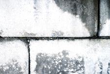 Free Dirty Old Wall From Concrete Blocks Stock Image - 29653351