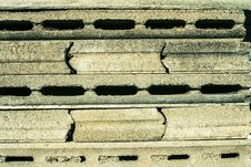Free Gray Concrete Figured Concrete Plates Royalty Free Stock Photography - 29655597
