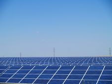Free Solar Power Farm Stock Images - 29668044