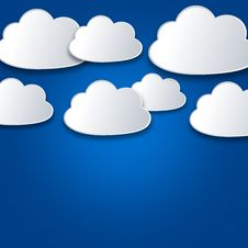 Free White Clouds On Blue Sky Stock Photo - 29668870