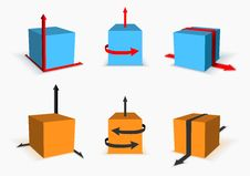 Free Box With Arrows Stock Images - 29671094