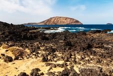 Free Landscape Of La Grasiosa - Canary Island Royalty Free Stock Images - 29671159