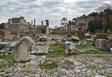 Free Roman Forum In Rome, Italy Royalty Free Stock Images - 29671849