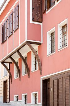 A House In The Old Plovdiv, Bulgaria Royalty Free Stock Image