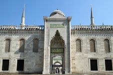 Free The Blue Mosque Royalty Free Stock Image - 29675736