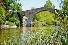 Free France, Corsica, Old Bridge Royalty Free Stock Images - 29676579