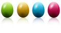 Free Colored Easter Eggs Royalty Free Stock Images - 29685999