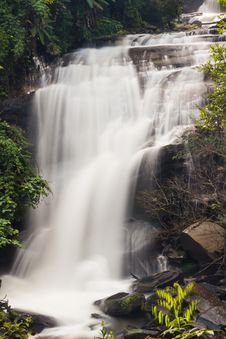Free Sirithan Waterfall Stock Image - 29684451