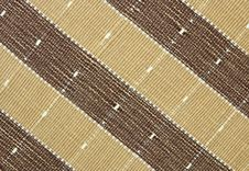 Free Brown Fabric Striped Texture Royalty Free Stock Photo - 29687775
