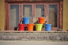 Free Terracotta Pots Royalty Free Stock Photos - 29687998