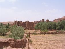 Free Moroccan Village Stock Images - 29689294