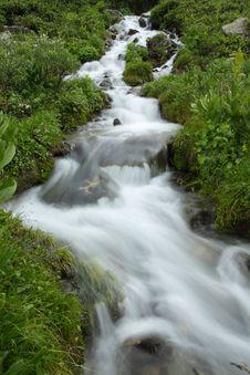 Free Rapid Mountain Stream Stock Image - 29692771