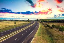 Free Highway Traffic Royalty Free Stock Photography - 29694237