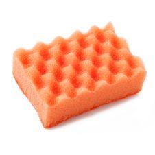 Free Sponge Over White Stock Photos - 29696763