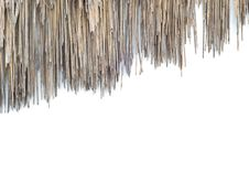 Free The Old Roof Grass Royalty Free Stock Photography - 29698577