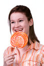 Free Lollypop Girl Stock Images - 2972604