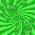 Free Green Bubbly Swirling Vortex Stock Photo - 2976610