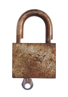 Free Rusty Lock Stock Image - 2970041