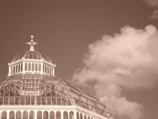 Free Crowning Glory Sepia Royalty Free Stock Photos - 2970928