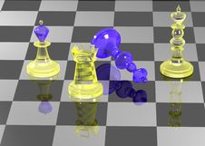 Free Chess Figures 2 Royalty Free Stock Photography - 2971377