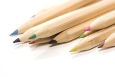 Free Wooden Color Pencils Royalty Free Stock Image - 2972286