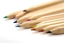 Free Wooden Color Pencils Royalty Free Stock Image - 2972296