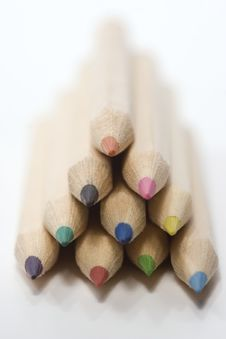 Free Wooden Color Pencils Royalty Free Stock Images - 2972549