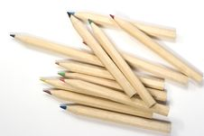 Free Wooden Color Pencils Stock Photos - 2972803