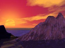 Free Sunset Royalty Free Stock Photo - 2972825