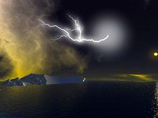 Free Lightning Royalty Free Stock Image - 2972936