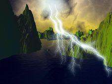 Free Lightning Stock Images - 2973074