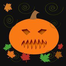 Halloween Jack-o -lantern Royalty Free Stock Image