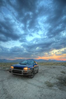 Free Desert Car Stock Image - 2973891