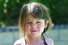 Free Swim Girl Stock Image - 2975341