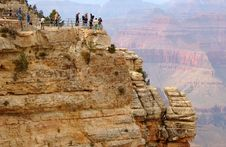Free South Rim Overlook Royalty Free Stock Photos - 2976198